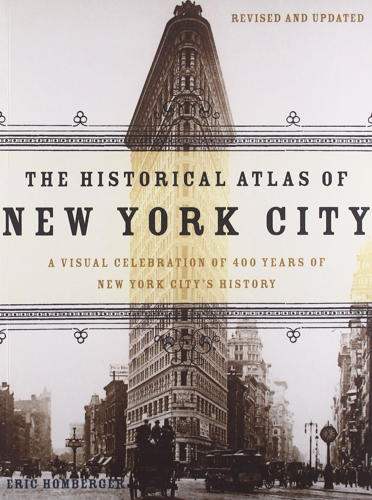 The Historical Atlas of New York City: A Visual Celebration of 400 Years of New York City's History-click the link below to learn more about this book.
