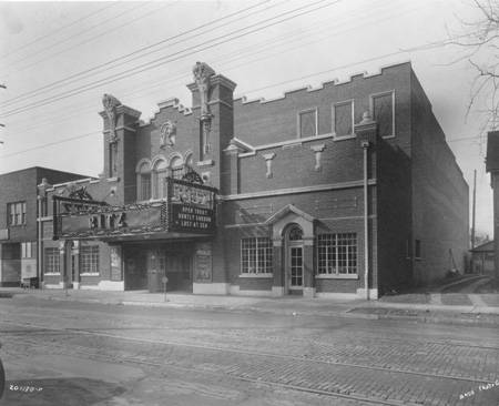 Indiana Theatre exterior (date unknown)