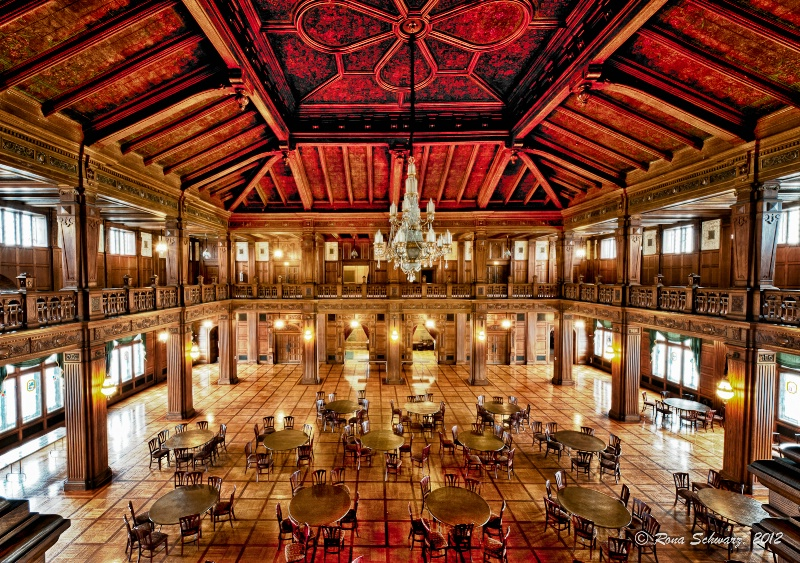 The Cathedral's ballroom