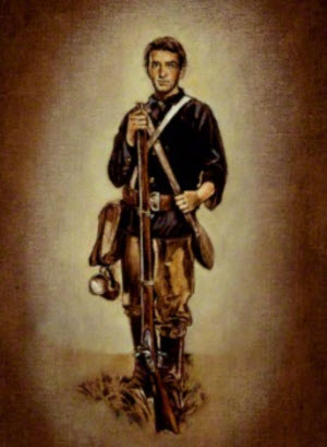 How a member of the Mormon Battalion may have looked