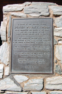 Plaque found outside home