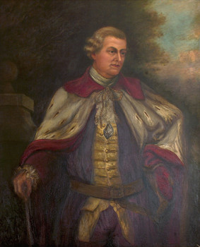 Portrait of Lord Botetourt