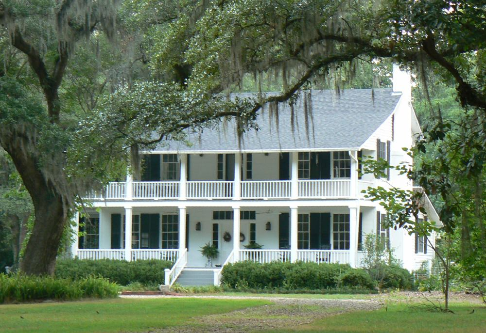 The Bannerman Plantation is an excellent example of an antebellum estate and is listed on the National Register of Historic Places.