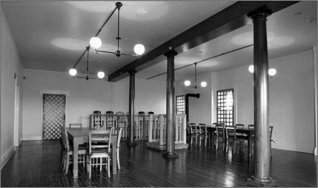 Courtroom in Grant Hall Fort Lesley J. McNair