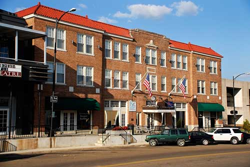 Hotel Chester opened in 1925 and is listed on the National Register of Historic Places.