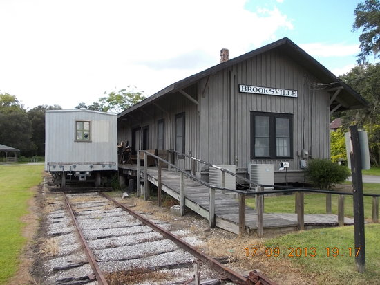 The 1885 Train Depot Museum