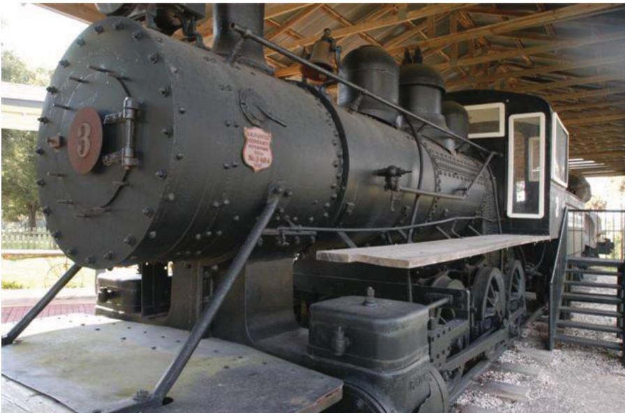 The 1913 steam engine