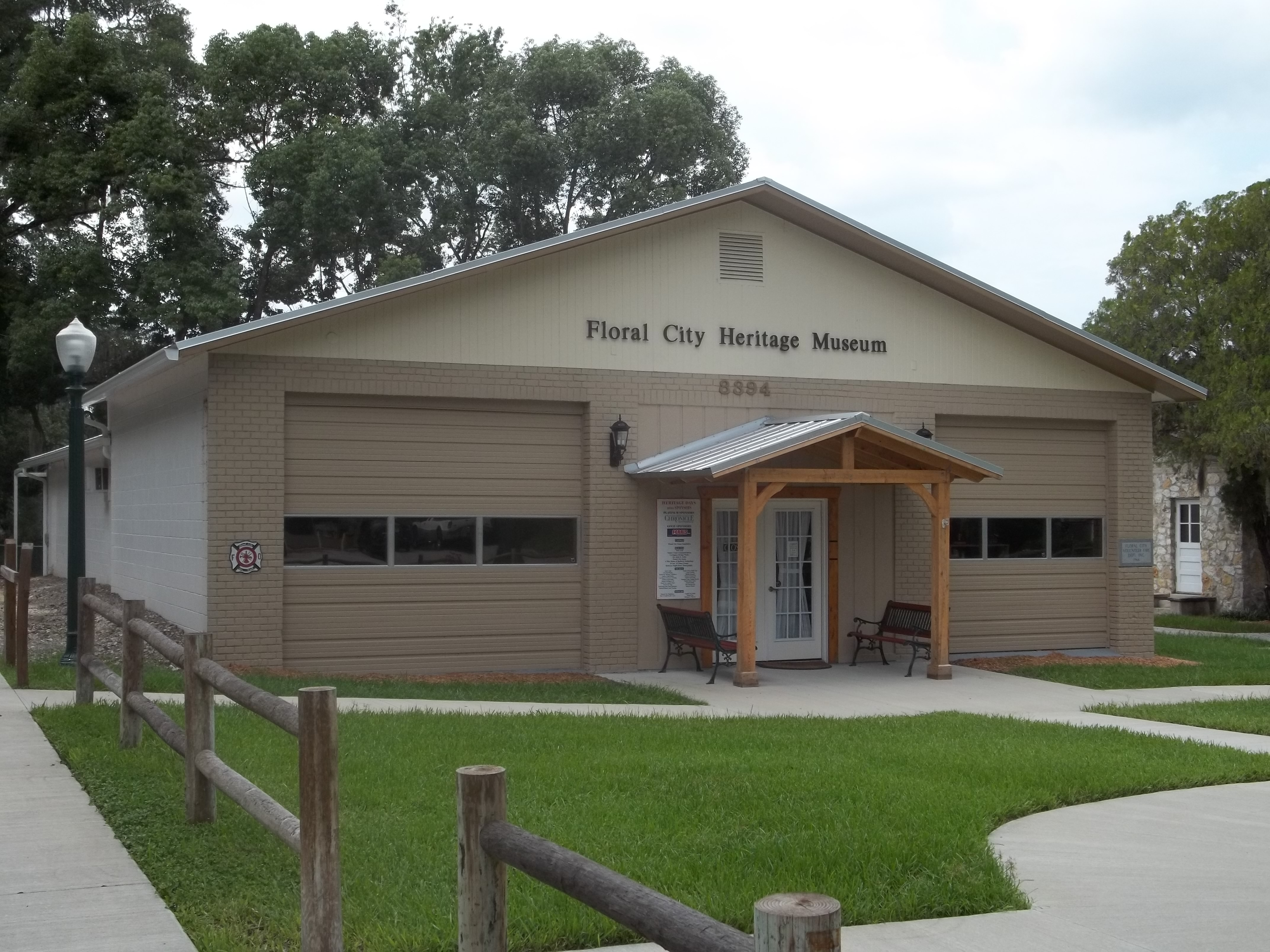 The Floral City Heritage Hall Museum