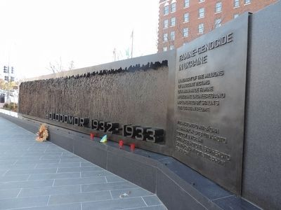 Famine-Genocide in Ukraine Memorial