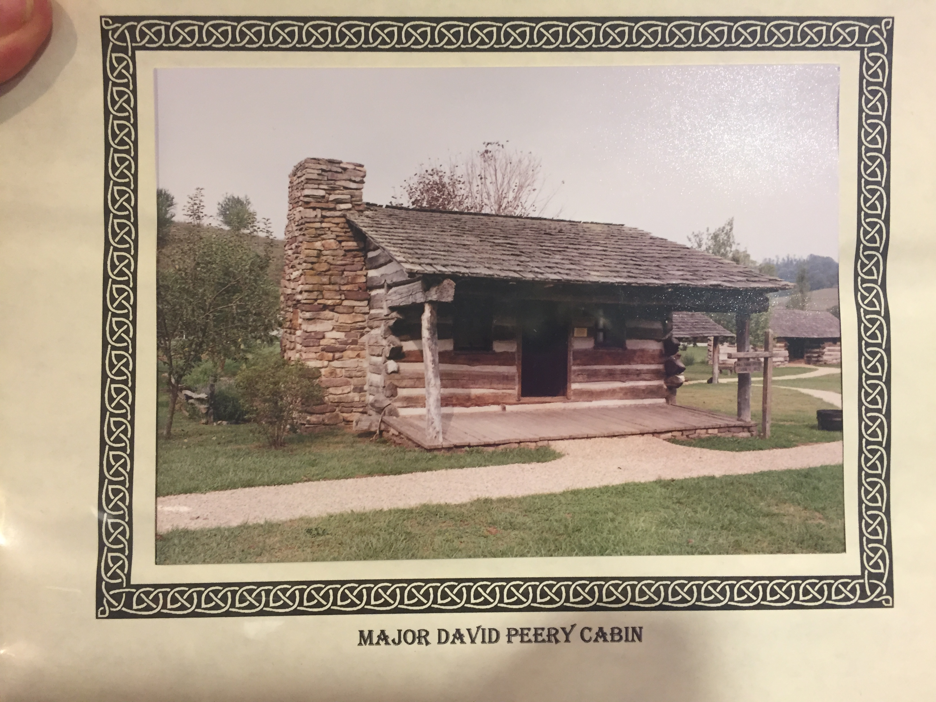Major David Peery Cabin