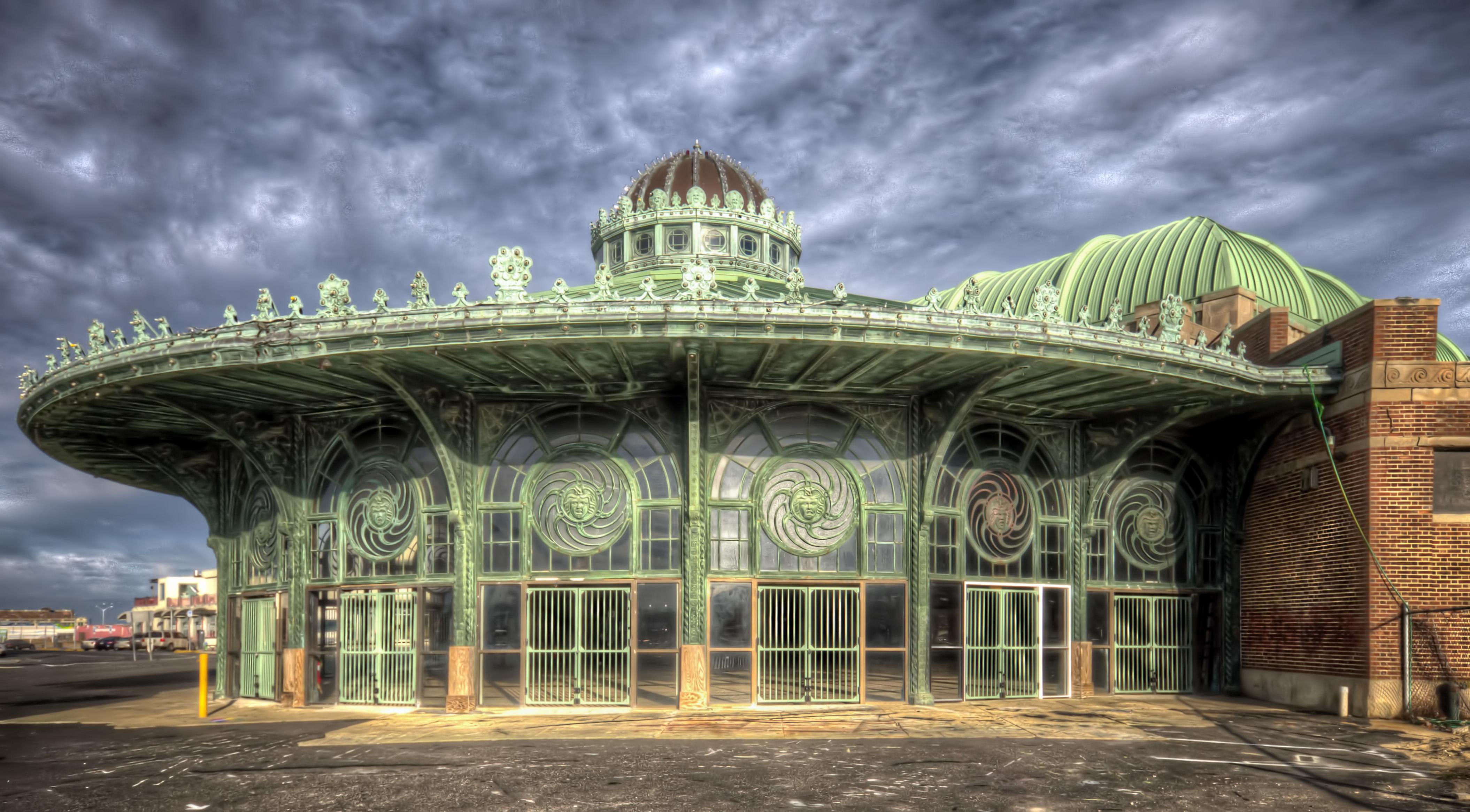Carousel Room at the Asbury Park Casino.