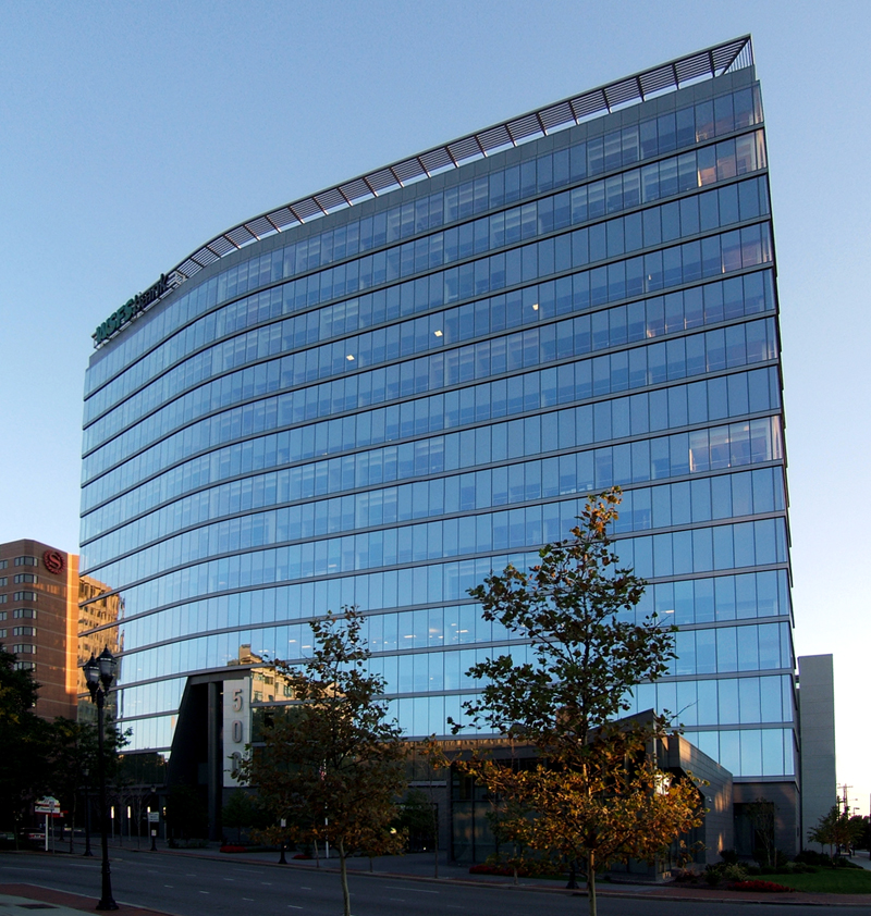 Current headquarters of WSFS (Wilmington Savings Fund Society) at 500 N. Delaware.  WSFS moved into this modern building after leaving the historic structure in 2007.