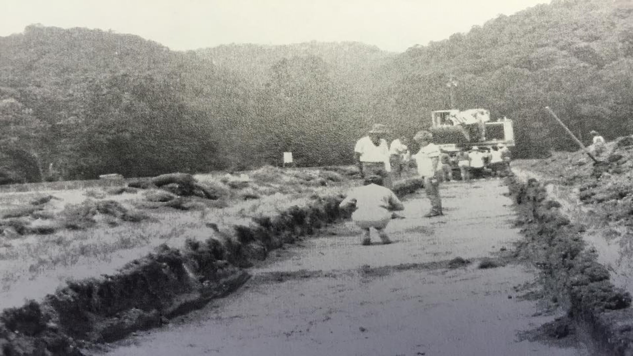 Marshall University and Concord College completed two rescue excavations at the Snidow Site in 1988 and 1989.
