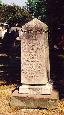 Salem Broad Street Cemetery Obelisk