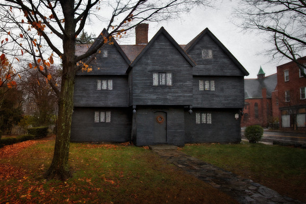 """The Corwin House is now known as the """"Witch House"""" and home to a museum."""