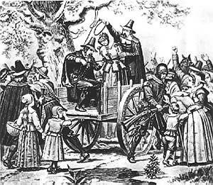 Salem Witch Hanging