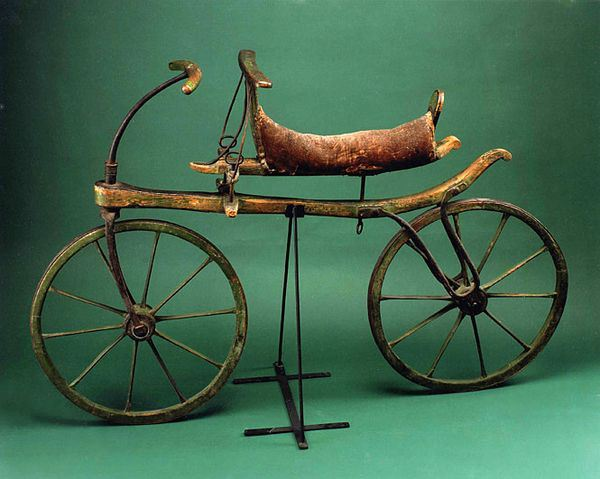 An original velocipede
