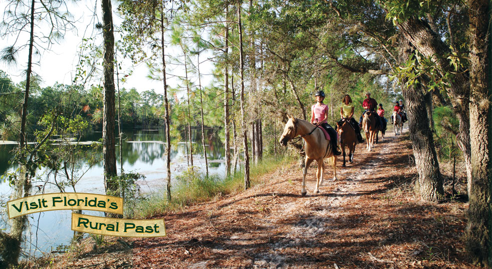 Horseback riding is one of the many activities that visitors can enjoy