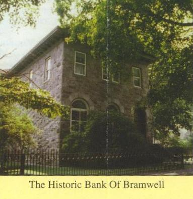 This is a view of the Bank of Bramwell building.