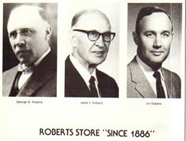 The Roberts Family Owners of the Roberts Store