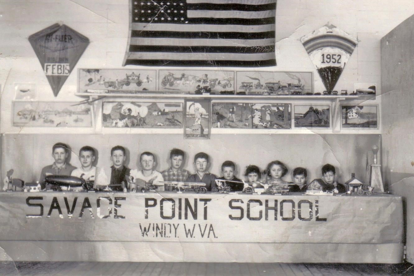 Children from the Savage Point School