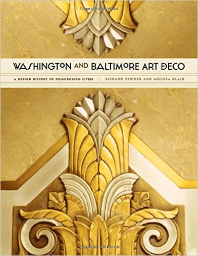 Book about art deco in Washington and Baltimore