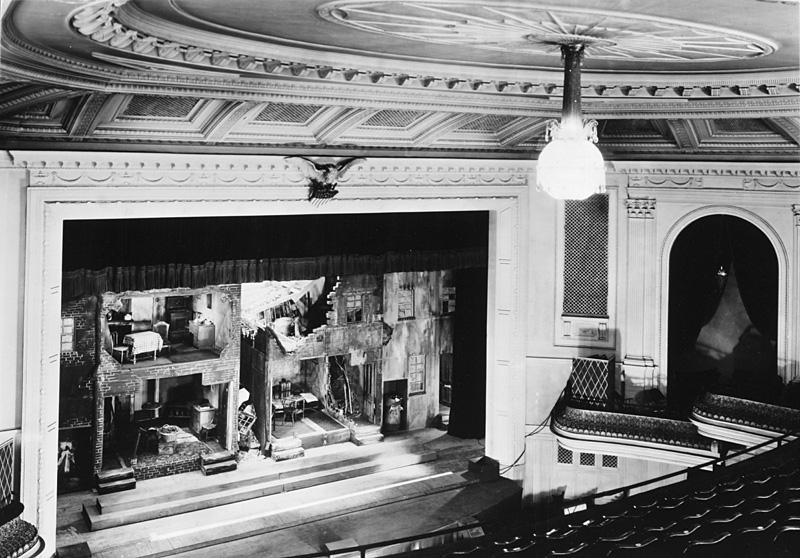 1938 interior of the Walnut