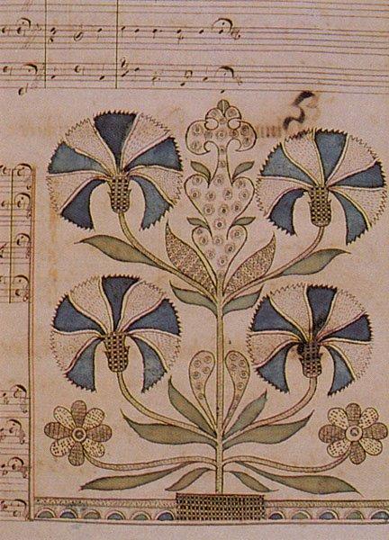 An example of Ephrata frakturschriften.