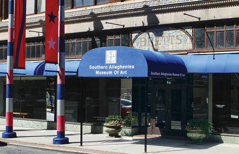 Southern Alleghenies Museum of Art, Brett Building
