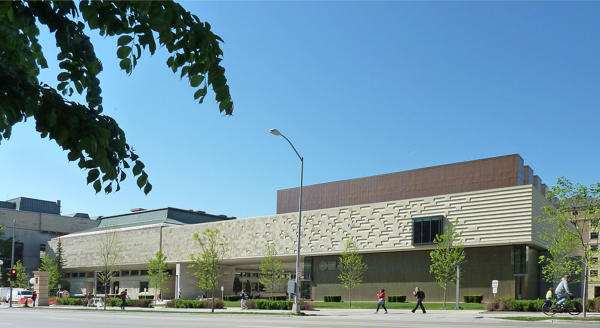 The Chazen Museum of Art opened in 1970 and was originally called the Elvehjem Art Center until 2005 when the museum was expanded.