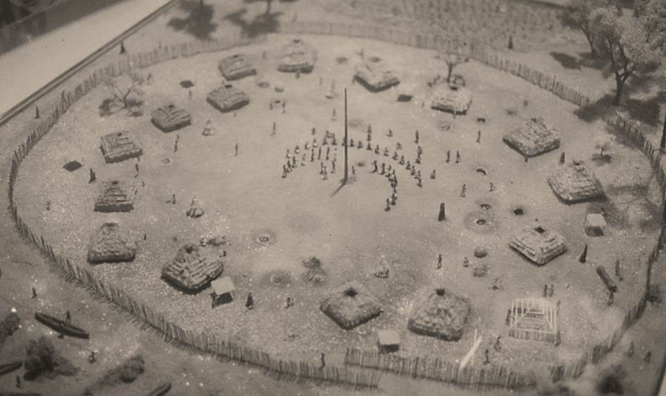 SunWatch Village as it may have looked at around A.D. 1200