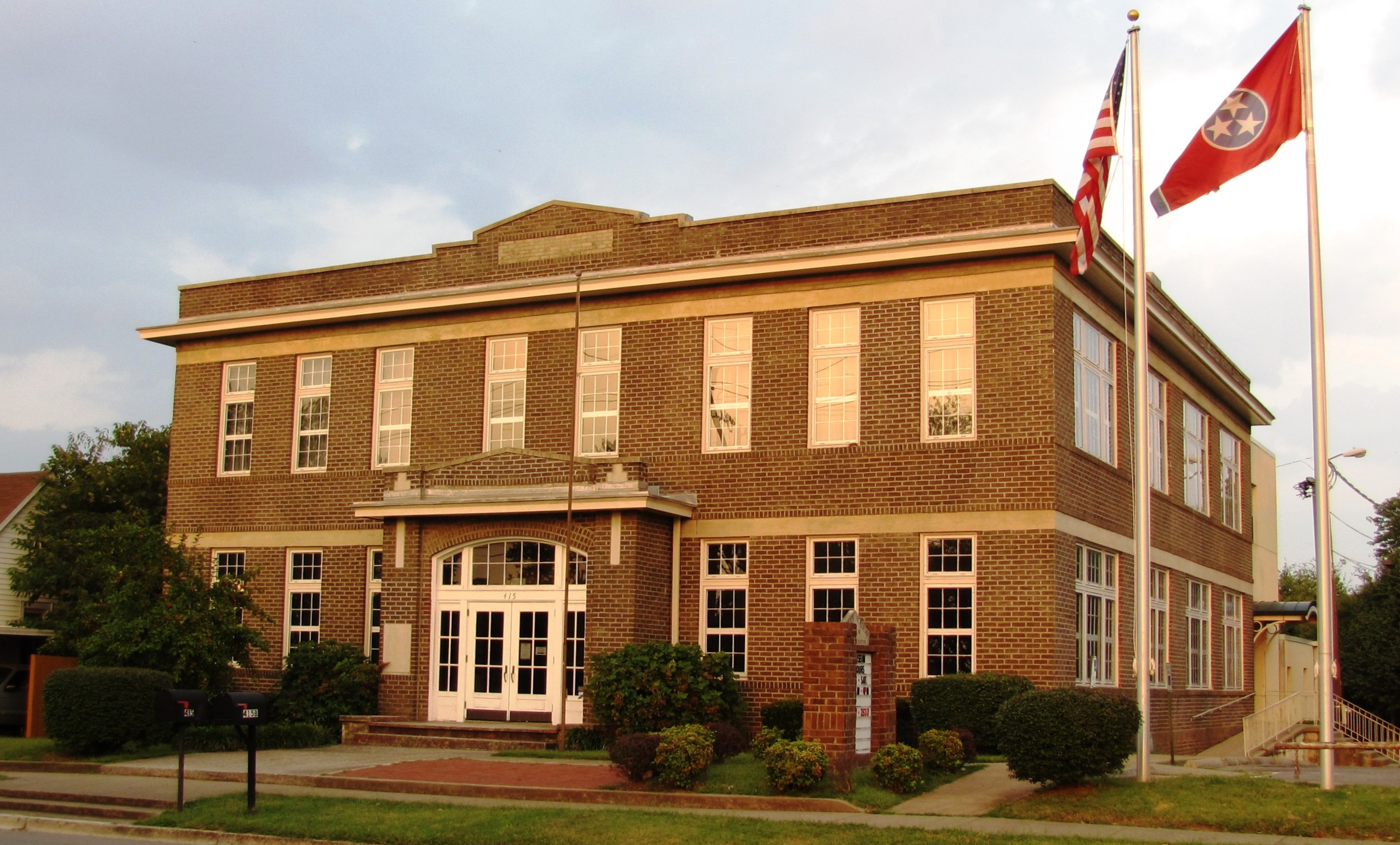 Exterior of the Bradley Academy Museum and Cultural Center