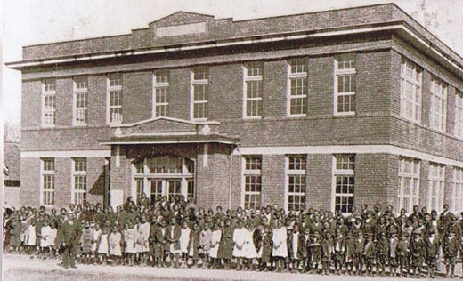 The Academy in earlier times with students.