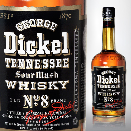 George Dickel Whisky Label
