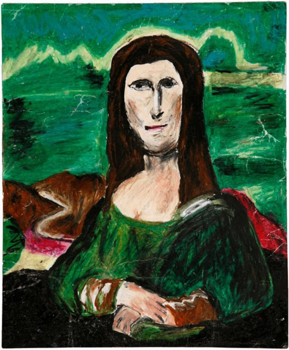 """The Mana Lisa,"" a different take on ""The Mona Lisa"""
