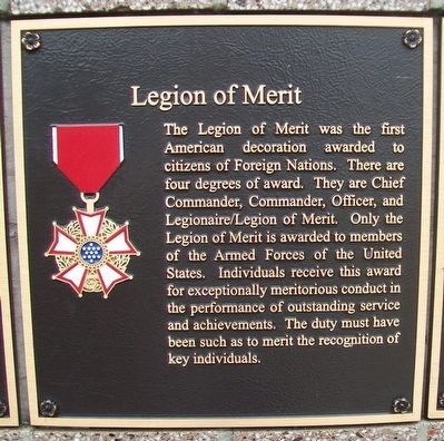Legion of Merit Marker