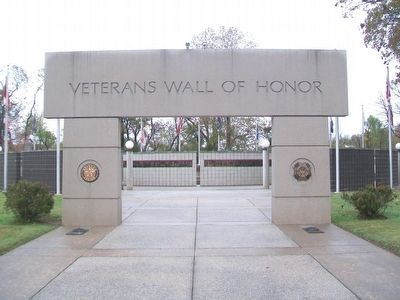 Veterans Wall of Honor, Bella Vista AR