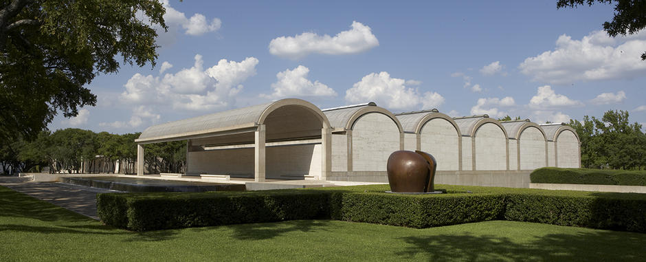 View of the Kimbell Art Museum