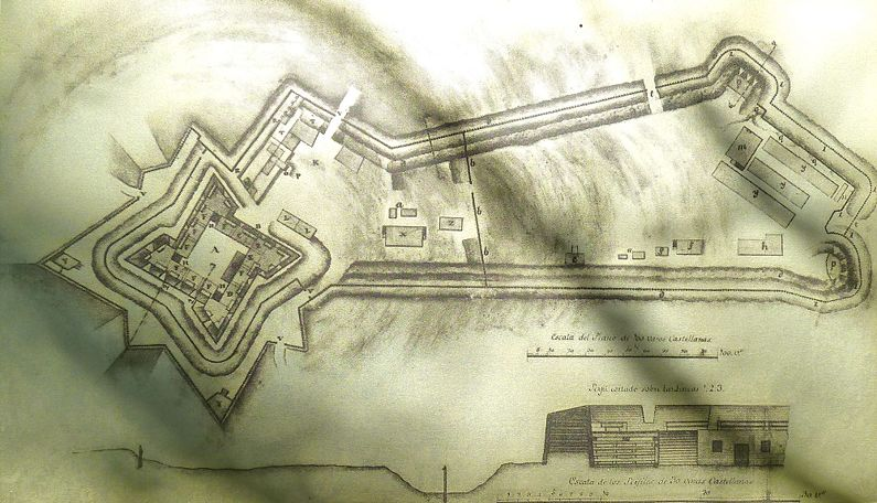 The plan of the fort