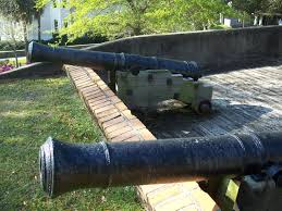 Cannon at Fort George Memorial Park