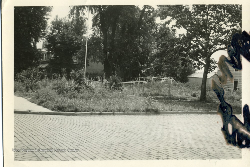 Oley School Playground, July 1934
