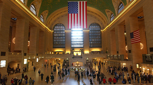 Inside of Grand Central
