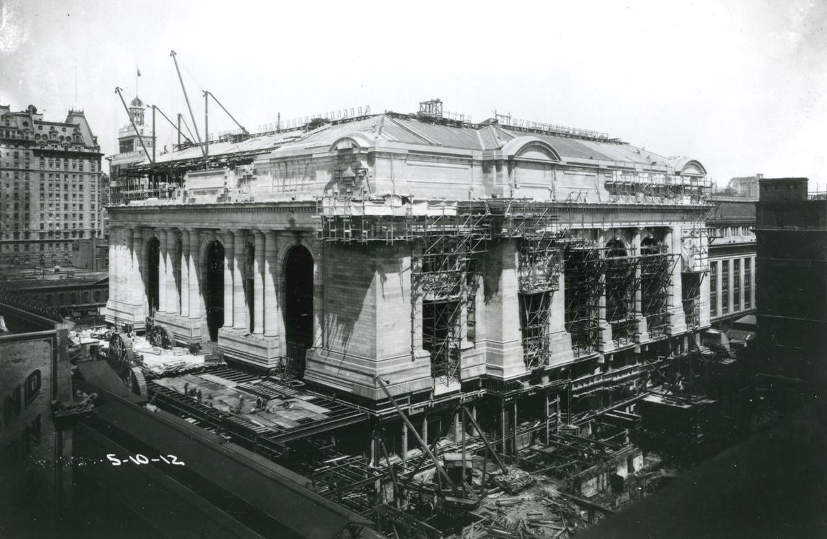 Construction of Grand Central