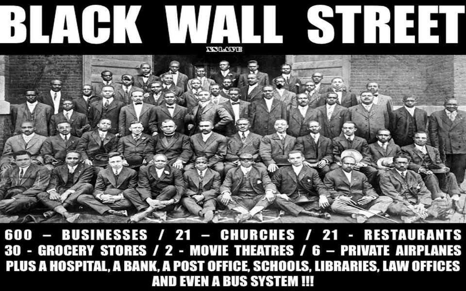 Some of the pioneers of Black Wall Street and what was Black Wall Street.