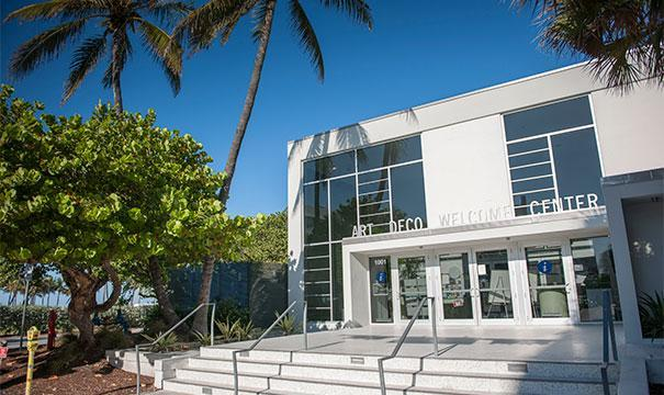 Miami Design Preservation League Art Deco Welcome Center