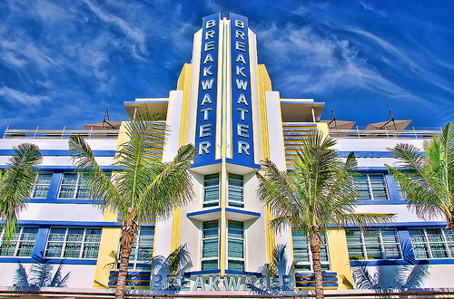 The Art Deco Breakwater Hotel