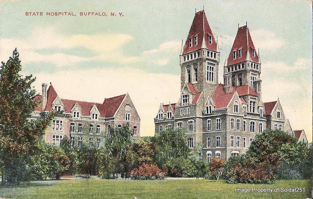 The Richardson Olmsted Complex was built in 1880 and was declared a National Historic Landmark in 1986.