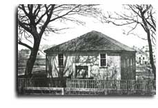 African Meeting House in the 1800s.