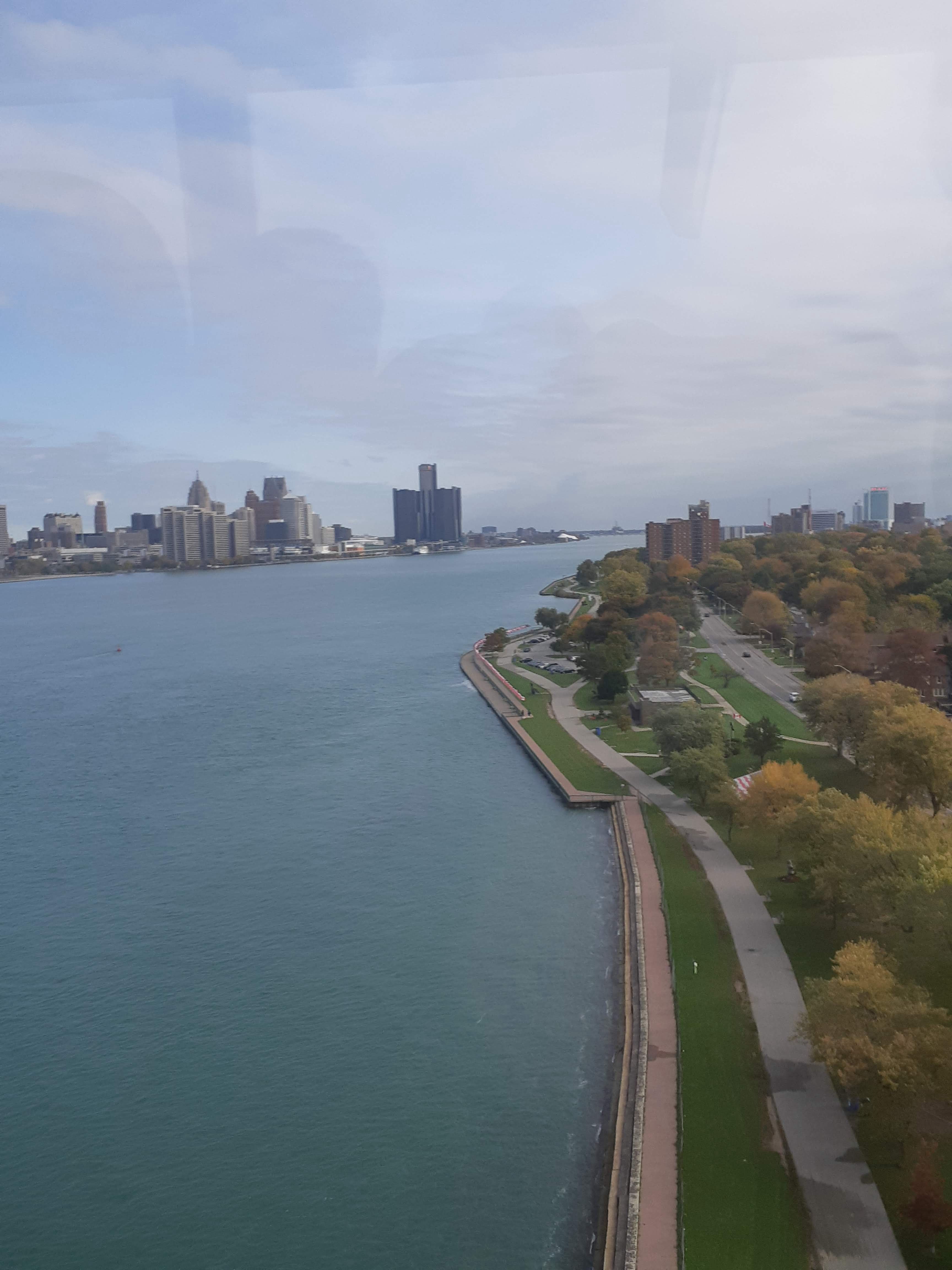This is the Detroit river, with Detroit on the left and Windsor on the right. The Bibbs migrated from Detroit to Sandwich, and eventually settled in Windsor. The image demonstrates that while they migrated to a new country, the areas were very close.