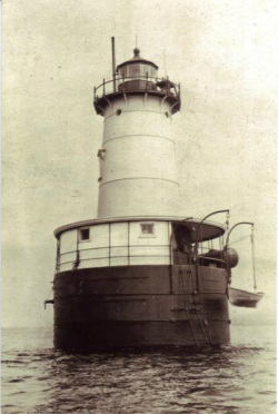 This image of the lighthouse was taken near the outbreak of World War II when coastal defense became a leading security concern.